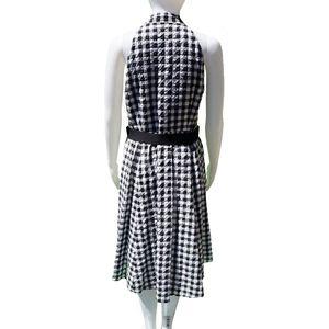 Nanette Lepore Dresses - NANETTE LEPORE GINGHAM PRINT SLEEVELESS DRESS